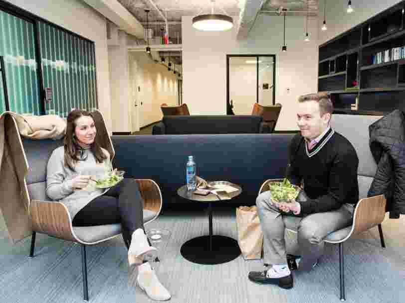 Découvrez les nouveaux bureaux d'Insider Inc., la maison-mère de Business Insider, au cœur de New York