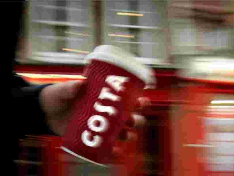 Coca-Cola devient une réelle menace pour Starbucks après avoir racheté l'une des plus grandes chaînes de cafés en Europe pour 5,1 Mds$