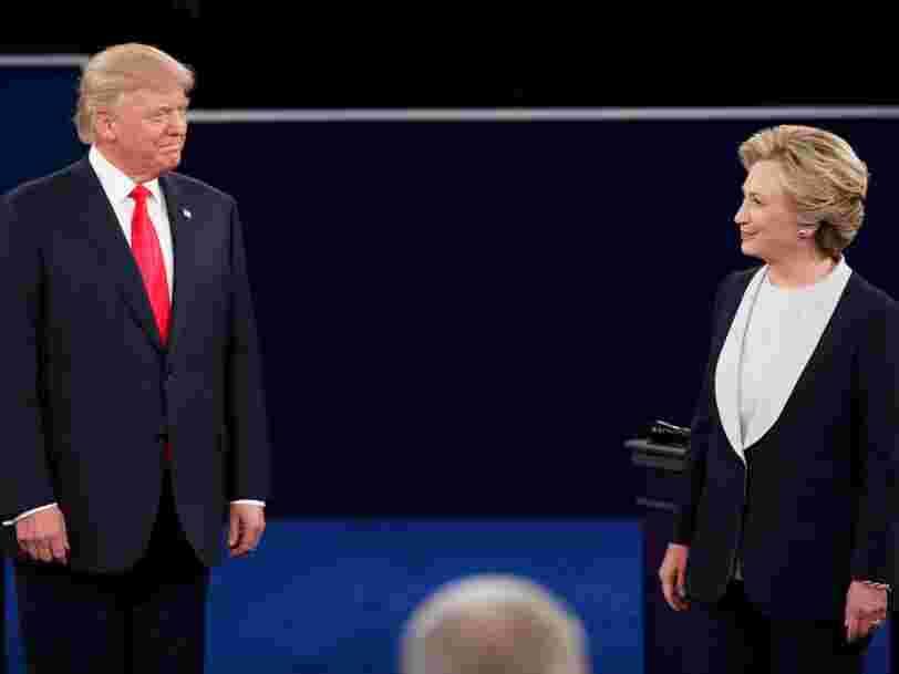 Les déclarations les plus importantes du deuxième débat entre Hillary Clinton et Donald Trump