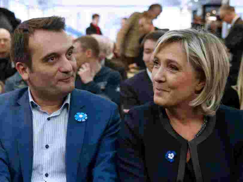 Marine Le Pen félicite le 'nouveau président des Etats-Unis' Donald Trump