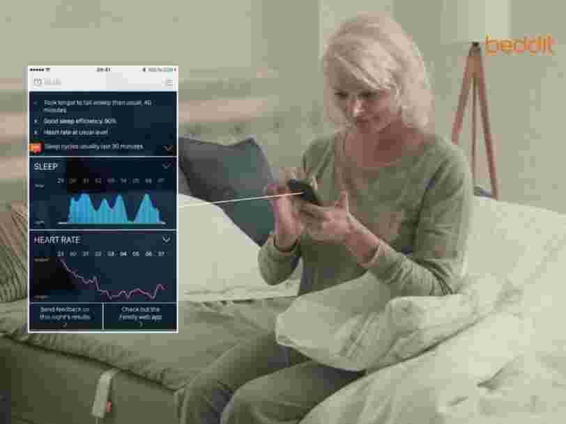 Apple vient d'acheter une startup qui surveille votre sommeil
