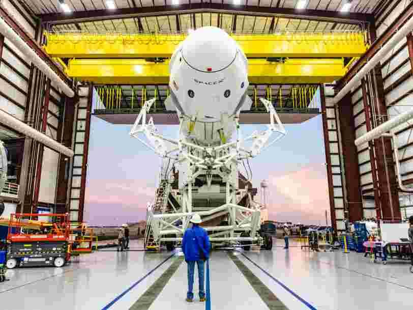 La capsule Crew Dragon de SpaceX a bien explosé lors de son test au sol