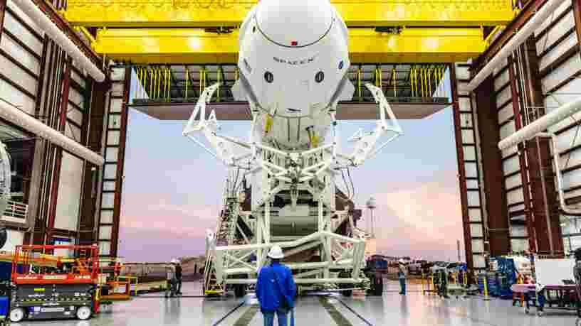 Space X promet d'envoyer des touristes sur la Station spatiale internationale dès l'an prochain