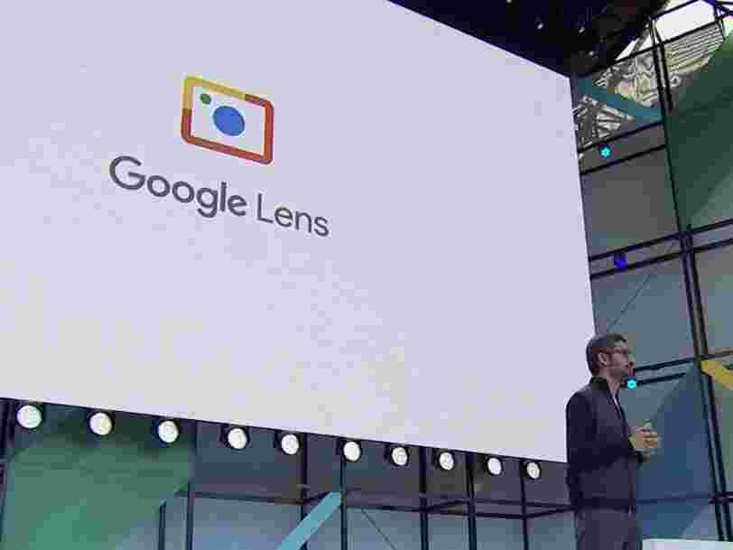 Le nouveau produit Google Lens utilise la caméra de votre téléphone pour reconnaître des objets du quotidien et vous connecter au Wifi