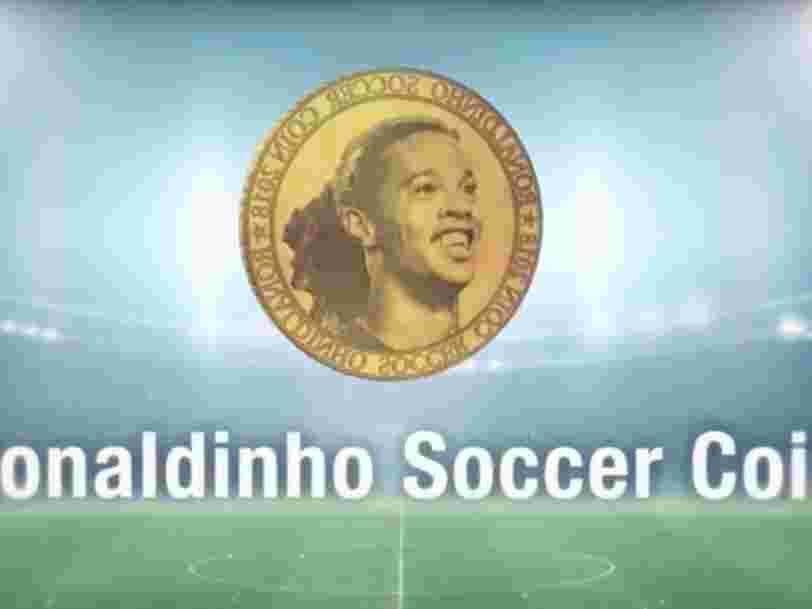 Ronaldinho lance sa cryptomonnaie — et il y a 3 sujets qui fâchent