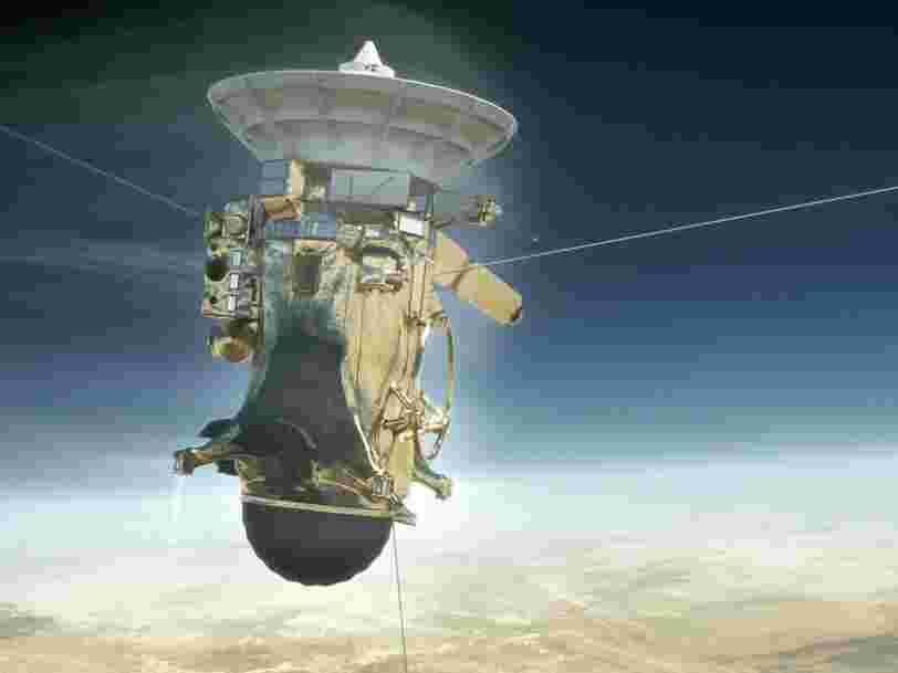 La NASA pulvérise une mission spatiale à 3,3 Mds$ dans l'espace aujourd'hui — c'est historique