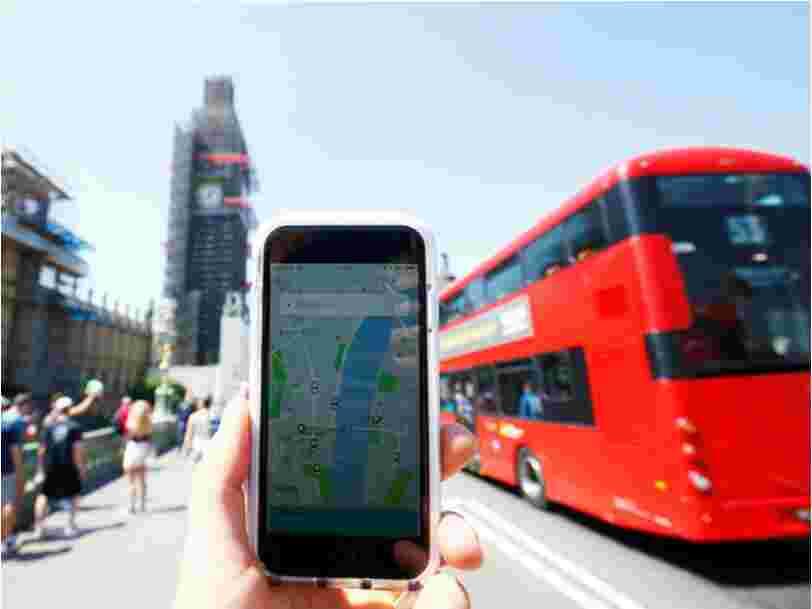 Uber récupère sa licence à Londres