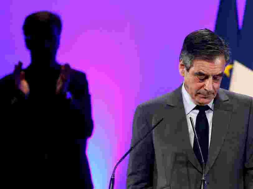 Le Parquet national financier écarte un classement sans suite de l'enquête sur François Fillon et sa famille