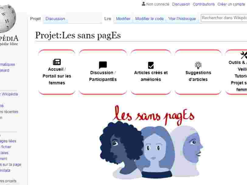 Un commando français tente de féminiser Wikipédia