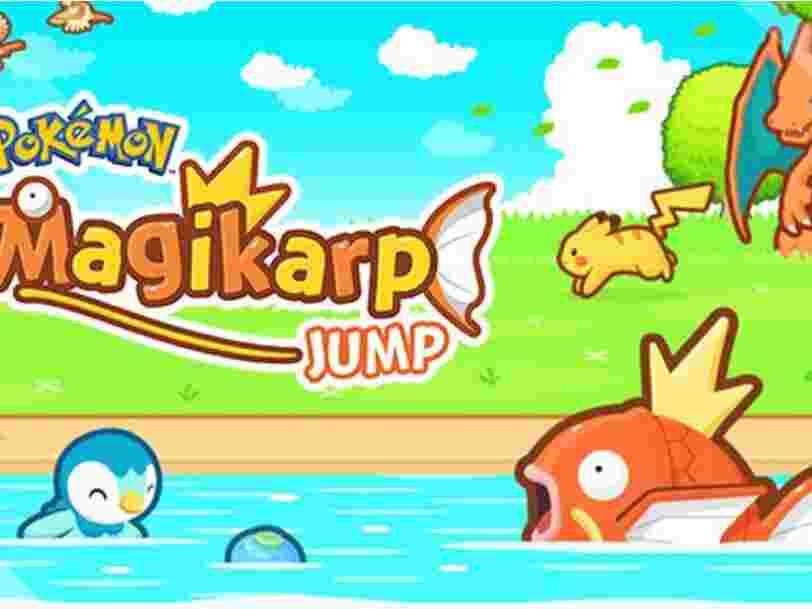 On a testé 'Magicarpe Jump', le nouveau jeu mobile Pokémon qui ne se prend vraiment pas au sérieux