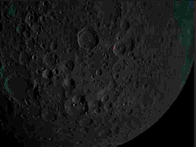 Des spectaculaires photos de la face cachée de la Lune ont été envoyées par la sonde israélienne