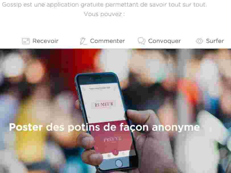 Cette application française diffusait des ragots sur des utilisateurs mineurs — elle se retrouve désormais devant la justice