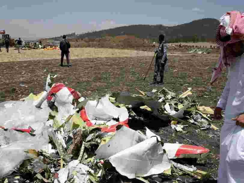 Sur les 737 Max 8, un voyant lumineux qui aurait pu permettre d'éviter le crash était proposé en option par Boeing