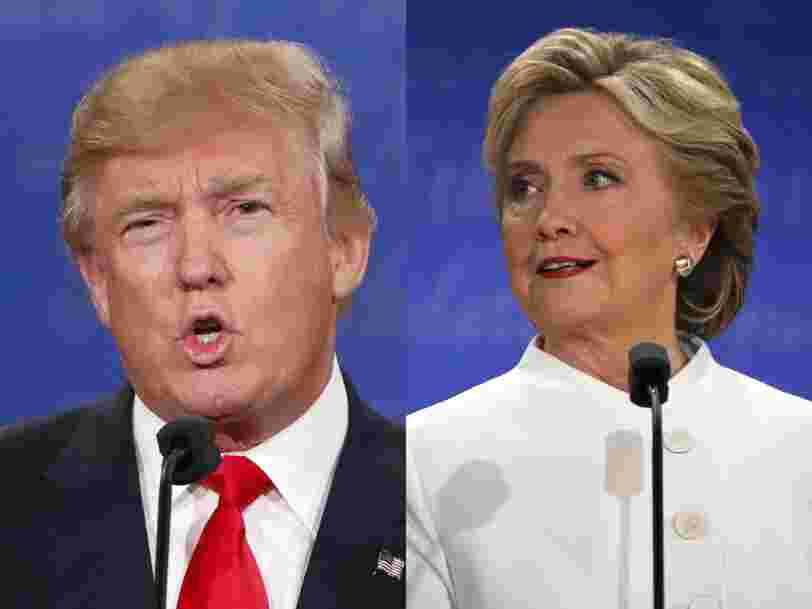 Hillary Clinton et Donald Trump se sont affrontés lors du dernier débat de la présidentielle américaine — voici comment ça s'est déroulé