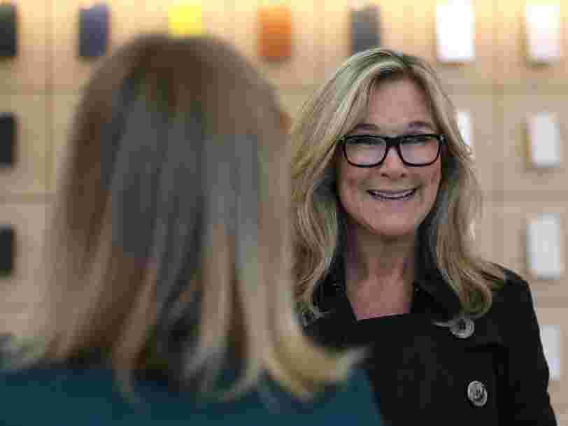 La dirigeante des Apple Store, Angela Ahrendts, quitte l'entreprise