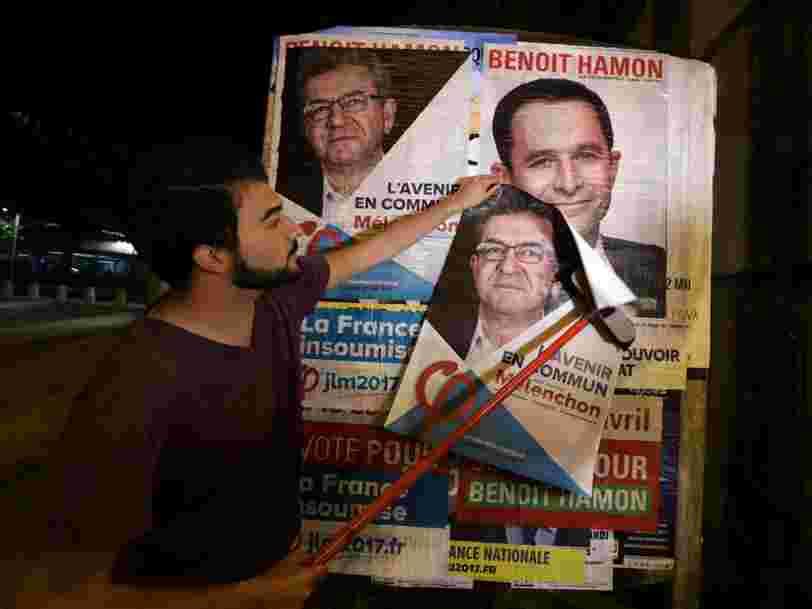 La chute de Benoît Hamon dans les sondages rapproche la campagne socialiste d'une sérieuse déconvenue financière