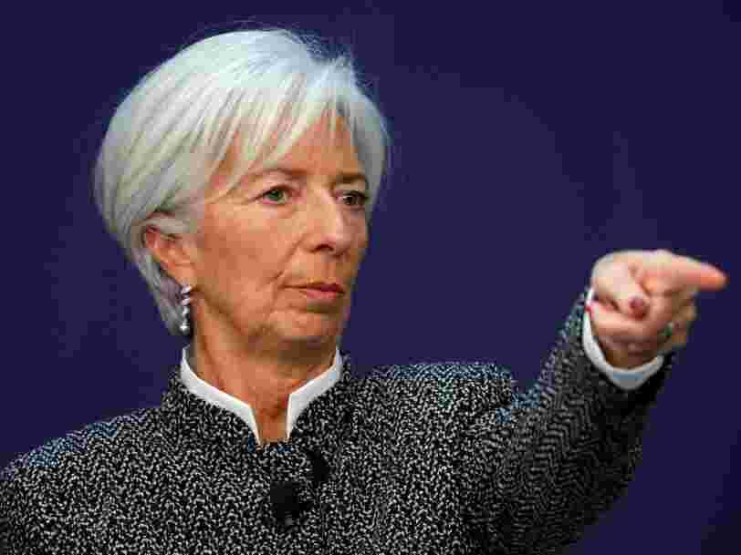 Christine Lagarde prévient qu'aucun pays ne ressortira gagnant d'une guerre commerciale