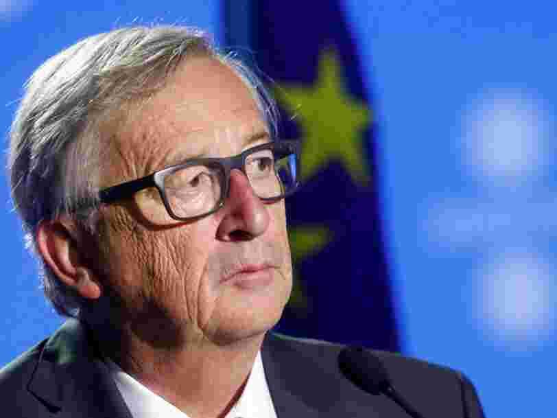 Le président de la Commission européenne dit que Londres 'doit payer' la facture du Brexit