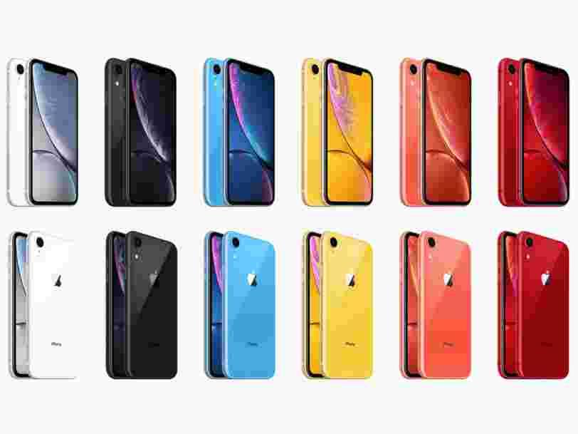 Ce que l'on sait des 3 nouveaux iPhone attendus cette année