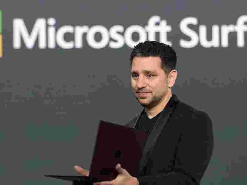 Microsoft pense que la seule façon d'avoir un écran de smartphone plus grand est d'en ajouter un deuxième