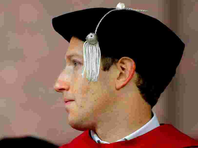 Facebook a dépensé des sommes folles pour la sécurité de Mark Zuckerberg