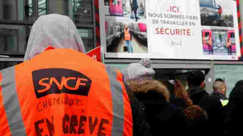 La grève aurait déjà coûté 100M€ à la SNCF mais ce n'est pas à cause de l'annulation de TGV dit son président