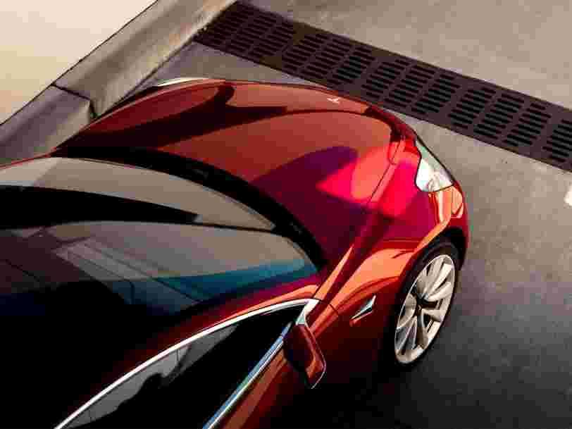 La Tesla Model 3 plébiscitée par les Européens dès sa sortie
