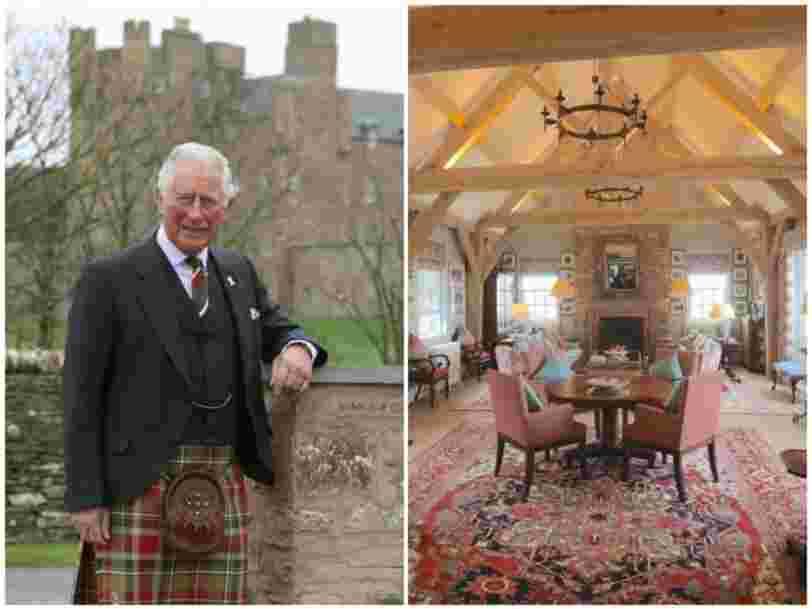 Le prince Charles a ouvert un 'bed and breakfast' de luxe, découvrez le Granary Lodge en images