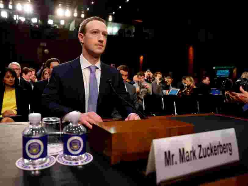 Vous pourrez suivre l'audition de Mark Zuckerberg au Parlement européen en direct — voici ce qu'il faut surveiller