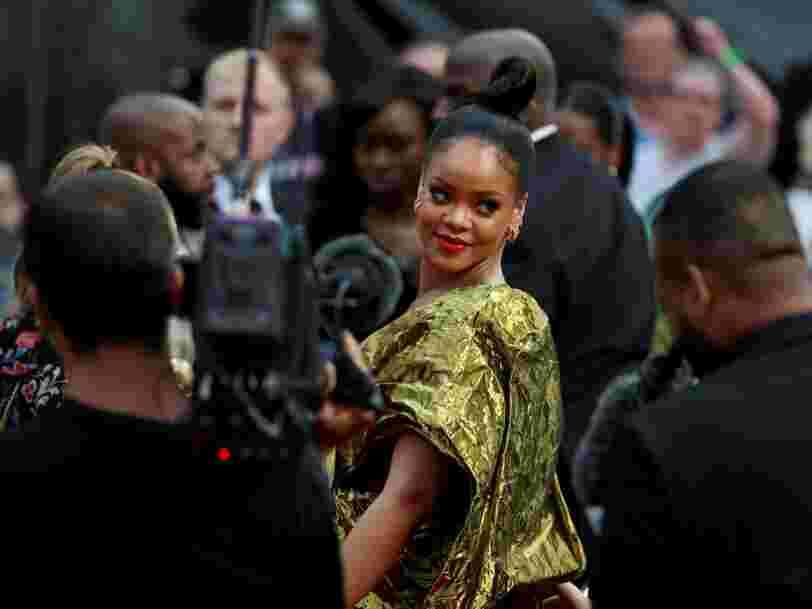 LVMH et Rihanna lancent 'Fenty', une nouvelle marque de vêtements et de chaussures