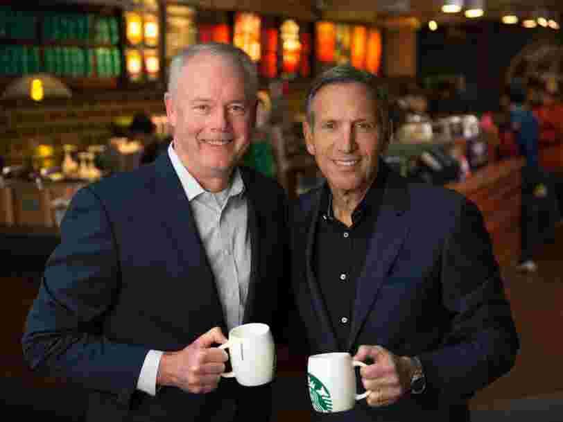 Le patron de Starbucks Howard Schultz quitte ses fonctions