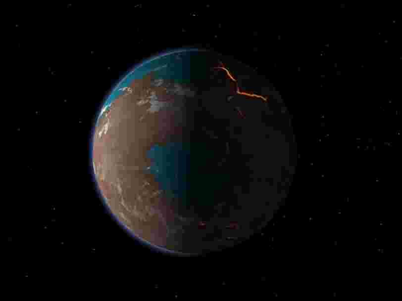 Mars pourrait s'être formée bien plus tard qu'on ne le pensait