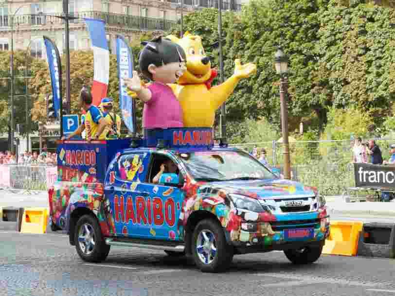 De plus en plus de bonbons Haribo vendus en France pourraient être fabriqués à l'étranger