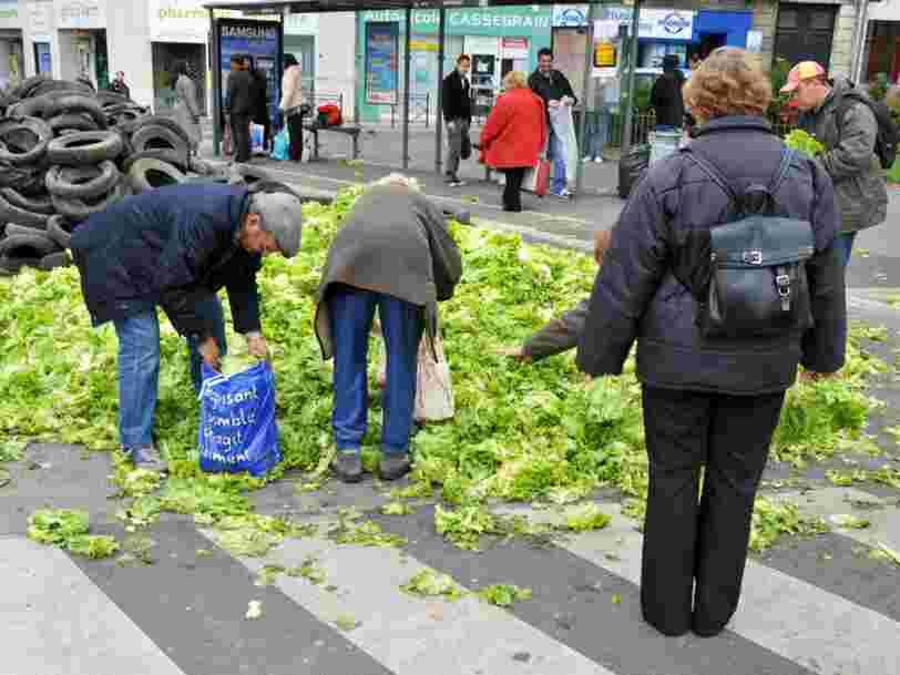 Il y a 143 Mds€ perdus par an à cause du gaspillage alimentaire en Europe — voici les 11 pays les plus fautifs