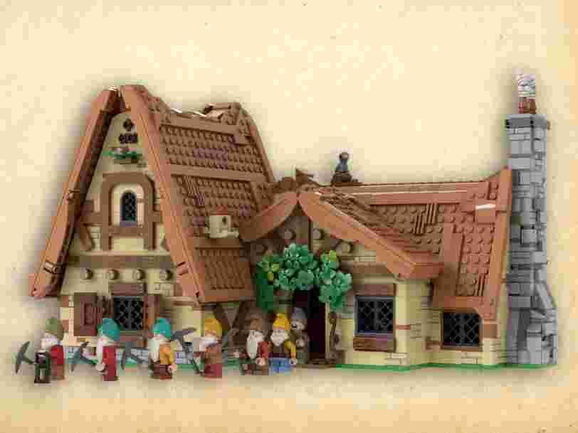 Blanche-Neige, Queen ou Mickey : comme 'Friends', 9 projets de Lego inspirés de la pop culture