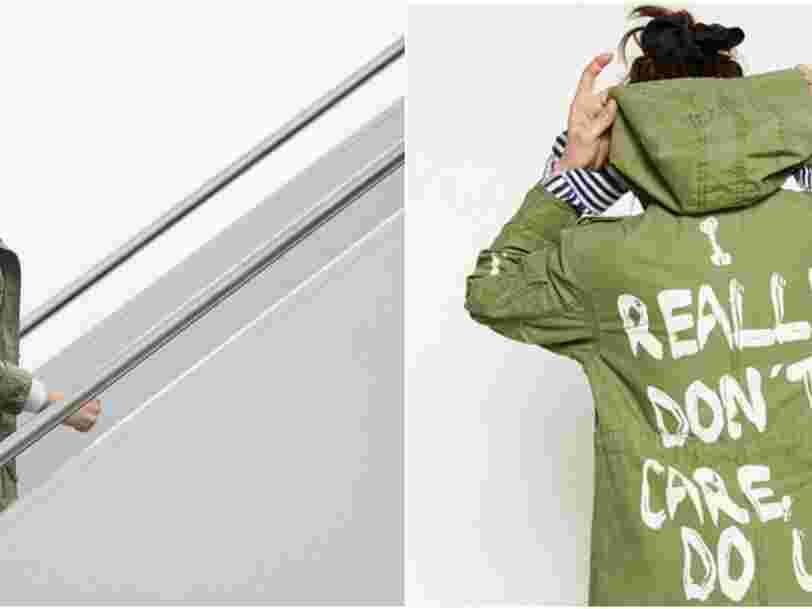 Melania Trump s'est rendue au Texas pour rendre visite aux enfants migrants en portant une veste qui dit: 'Je m'en fiche complètement, et vous?'