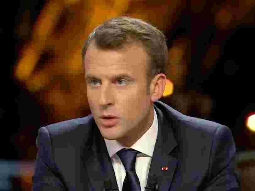 Emmanuel Macron répond pour la première fois à des journalistes depuis qu'il a lancé des frappes sur la Syrie — voici ce qu'il a dit
