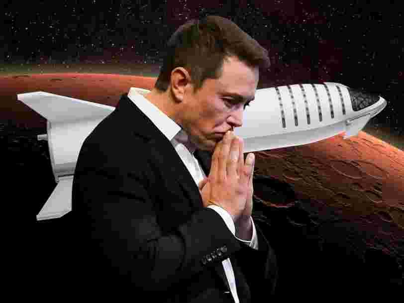 Elon Musk opère un 'changement radical' sur la méga-fusée de SpaceX destinée à la planète Mars — et renomme ses éléments 'Starship' et 'Super Heavy'
