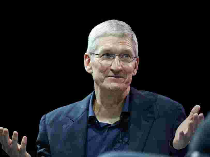 Le patron d'Apple met le ralentissement des ventes d'iPhone sur le compte des rumeurs sur l'iPhone 8