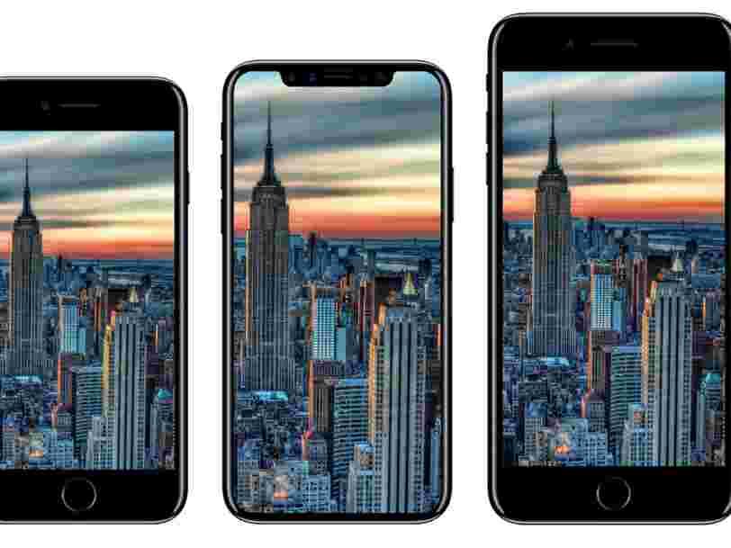 Apple vient peut-être de révéler accidentellement que vous pourrez déverrouiller l'iPhone 8 avec votre visage