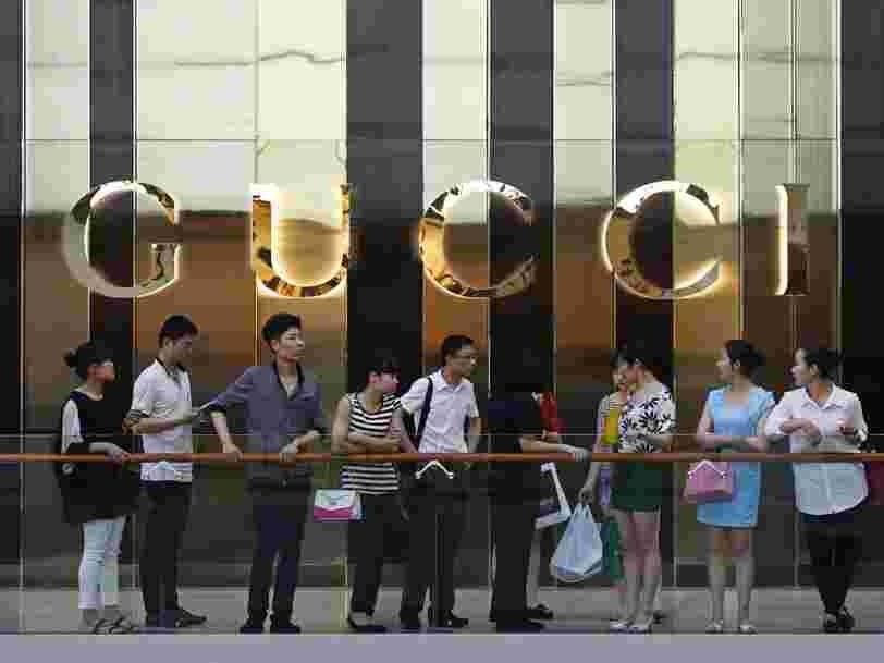 Kering publie des résultats meilleurs que prévu grâce à un bond historique des ventes de Gucci