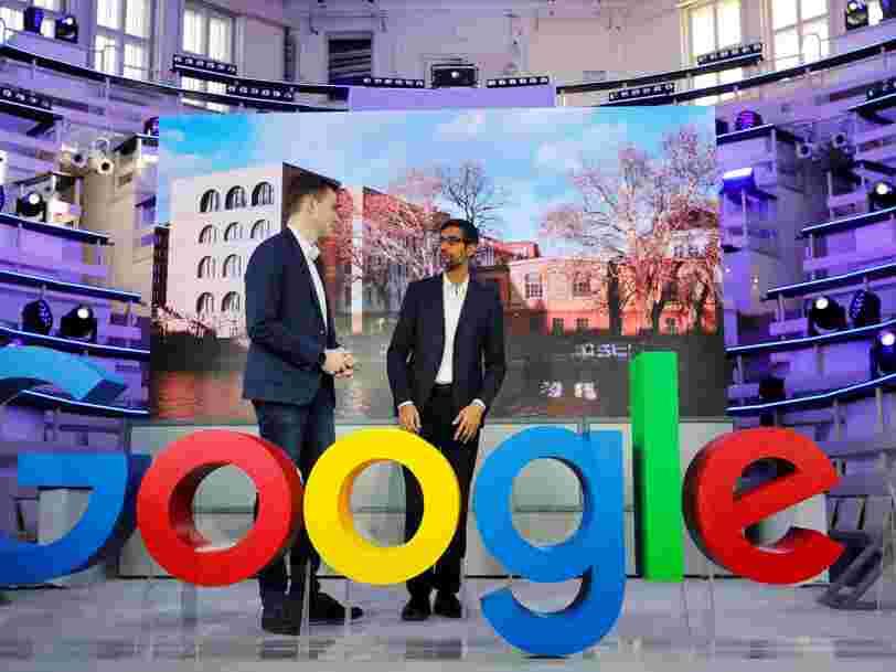 Google a sous-payé plus d'ingénieurs hommes que de femmes en 2018... et les 6 autres choses à savoir dans la tech ce matin