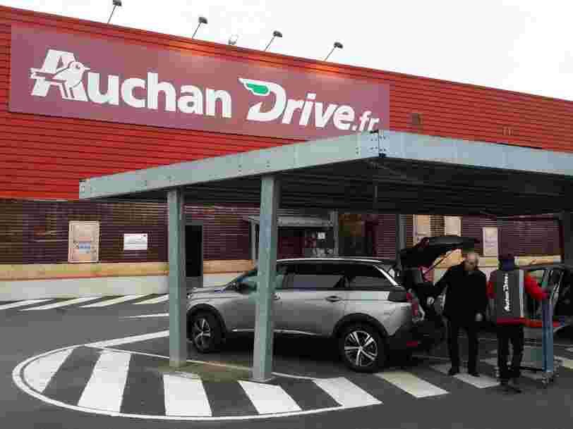 Auchan dans le rouge, Intermarché en forme, l'année 2018 a rebattu les cartes dans la grande distribution
