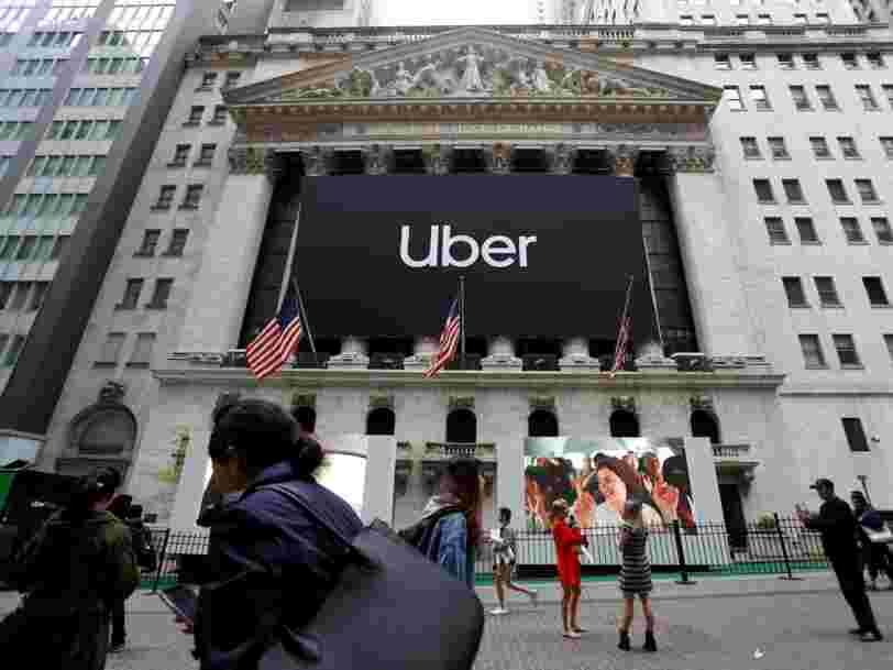 Les clients d'Uber dépensent plus mais son introduction en Bourse pèse sur les résultats