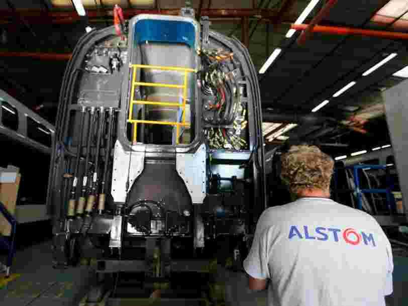 Alstom s'envole en Bourse après l'annonce officielle de sa fusion avec la branche ferroviaire de Siemens
