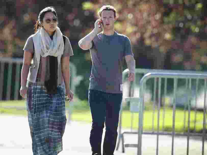 Vous pouvez désormais acheter le fameux t-shirt gris de Mark Zuckerberg pour 40€