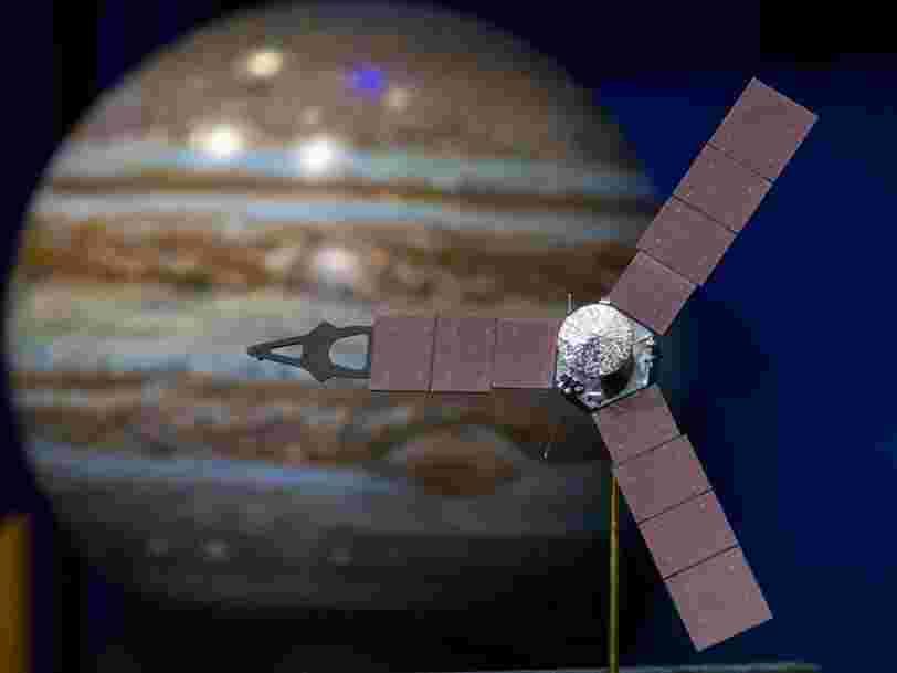 La sonde Juno tourne autour de Jupiter depuis 1 an —voici ses découvertes les plus spectaculaires