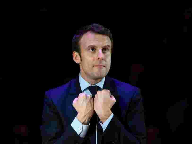 A Londres, Emmanuel Macron a dragué les banquiers pour les faire venir à Paris après le Brexit