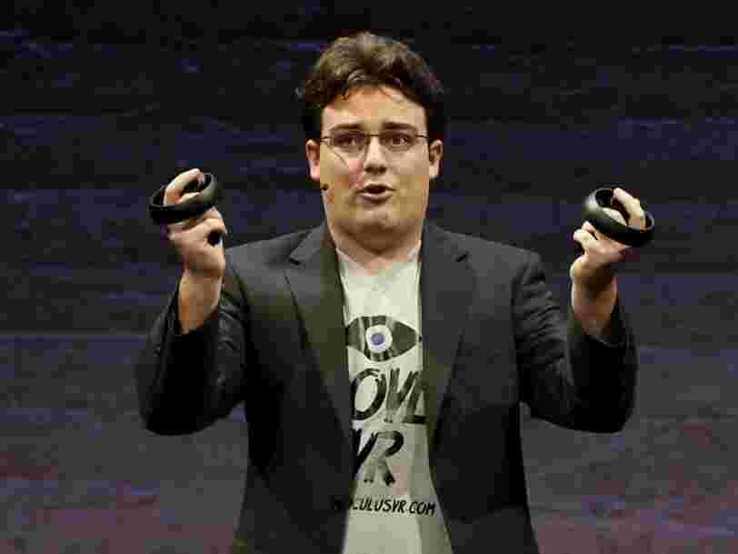 Le cofondateur d'Oculus Rift Palmer Luckey dit qu'il se sentait contrôlé chez Facebook: 'Je ne pouvais pas faire de cosplay'