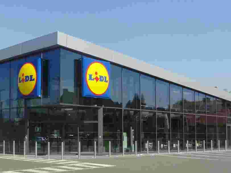 Pourquoi vous ne trouverez bientôt plus de produits Danone dans les supermarchés Lidl